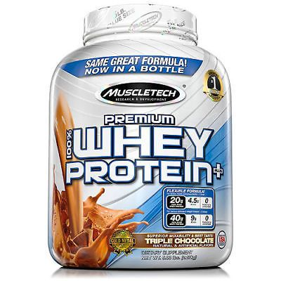 MuscleTech Premium 100% Whey Protein, Chocolate (5 lbs.)7  UPC - 0631656711974