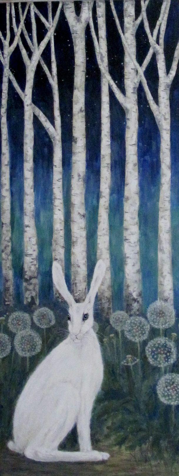 White hare.