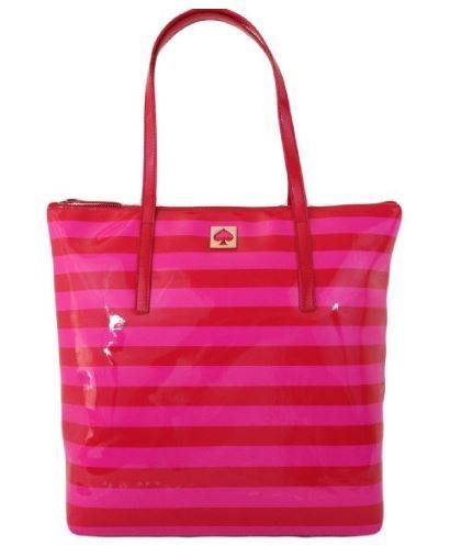Kate Spade New York York Street Pammy (Pink/Red) ** Click image for more details.
