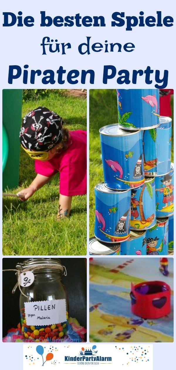 Piraten Kindergeburtstag Spiele