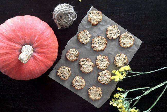 Овсяно-имбирное вкусное и полезное печенье