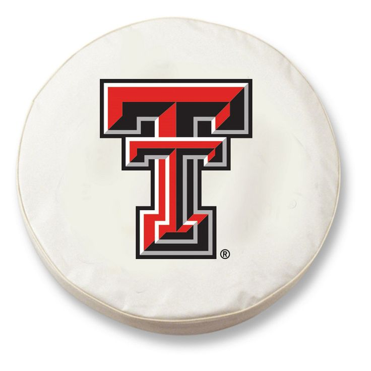 Texas Tech Red Raiders White Tire Cover w/ Security Grommets