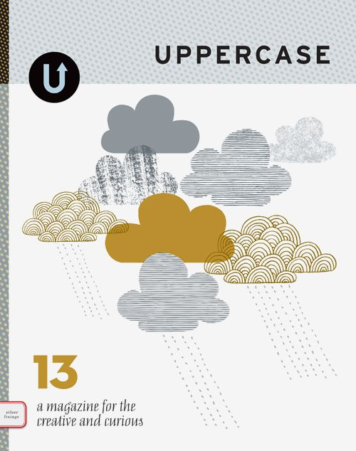 Excited to see issue #13 of Uppercase, such an inspiring magazine for creative types.