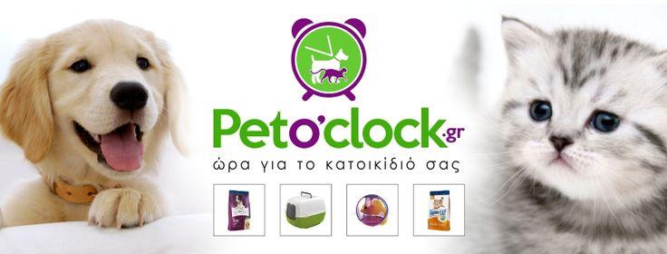 Pet O' Clock     New Logotype