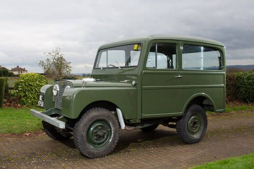 1950 Land Rover Series I by Tickford For Sale
