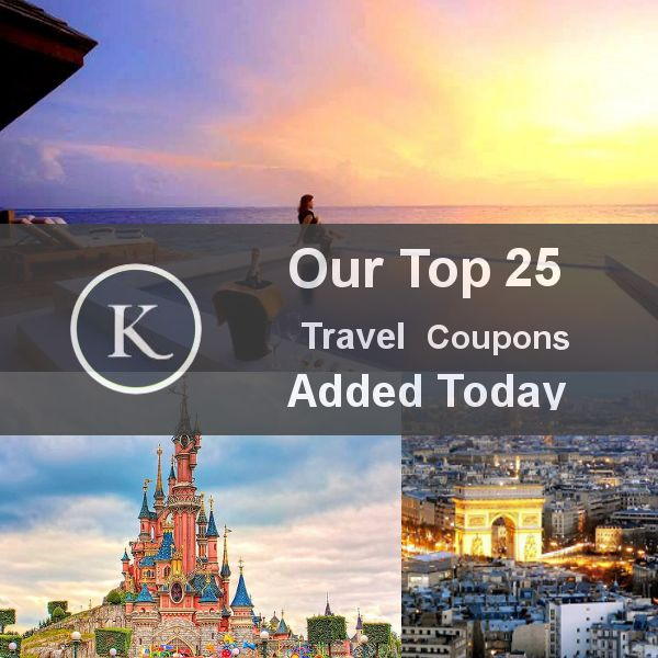 Our Top 25 Travel Coupons added today. List -> http://kickstartsaving.tumblr.com/post/63171788097/top-25-travel-coupon-codes