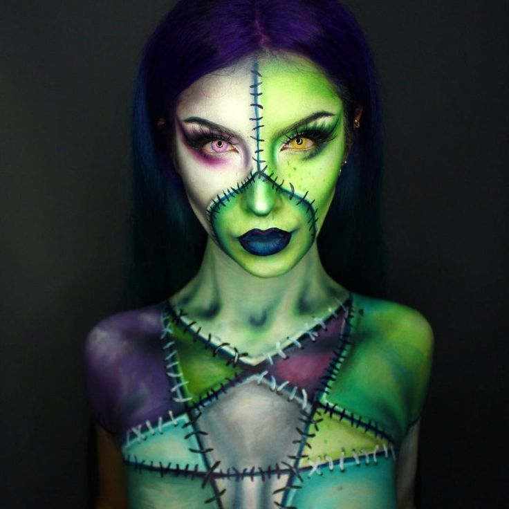 Pin By Sara Kati On Halloween Makeup Looks