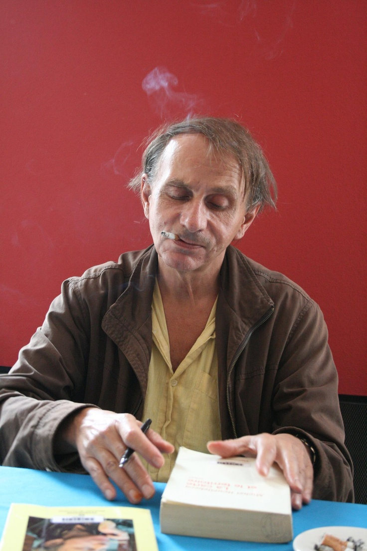 Michel Houellebecq. French author, filmmaker, and poet.