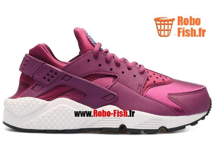 Nike Air Huarache Run Print - Chaussure Nike Running Pas Cher Pour Homme Murier Soar-Venise-Noir 634835-500