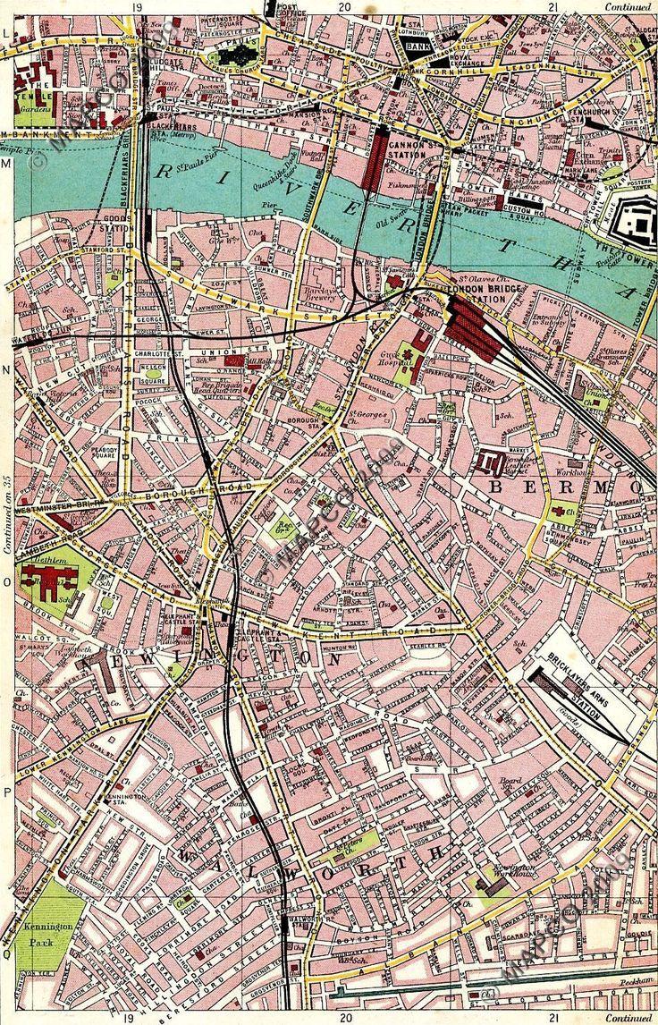 London Map Shoreditch Area: 151 Best Images About Maps On Pinterest