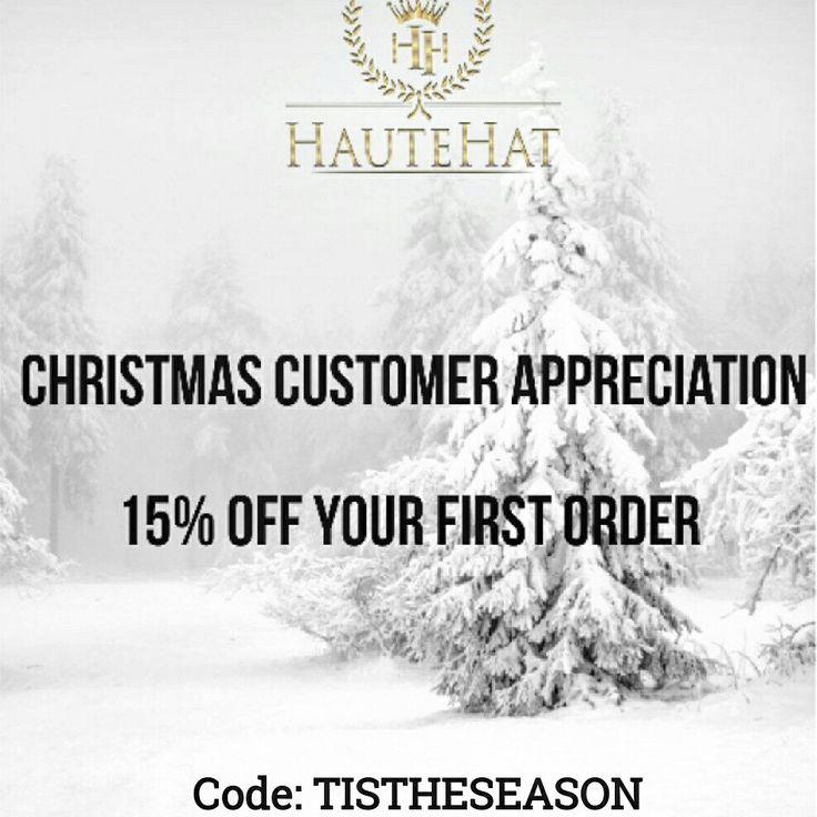 15% OFF  Code: TISTHESEASON  www.hautehat.com