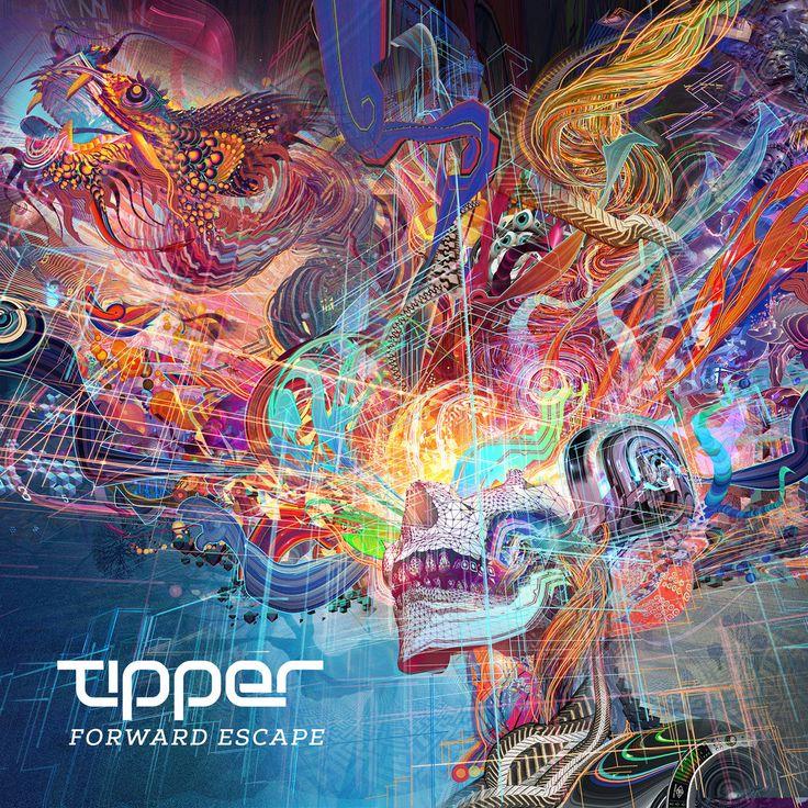 Tipper Forward Escape Visionary art, Android jones