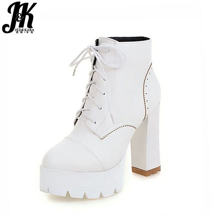 HooH Femmes Lace Up Platform Matte Stiletto Martin Boots-Jaune-35 bLz2D8