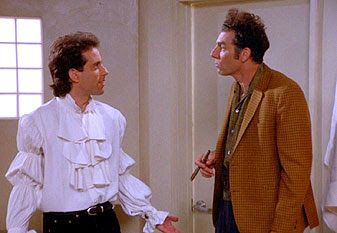 """seinfeld puffy shirt 