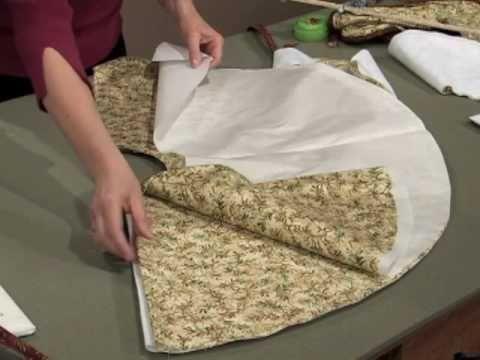 Create a Christmas tree skirt                                                                                                                                                                                 More