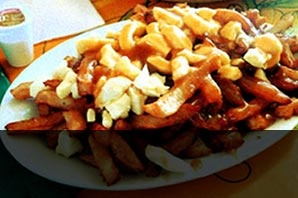 La Banquise - over a dozen kinds of poutine, open 24 hours (Montreal)