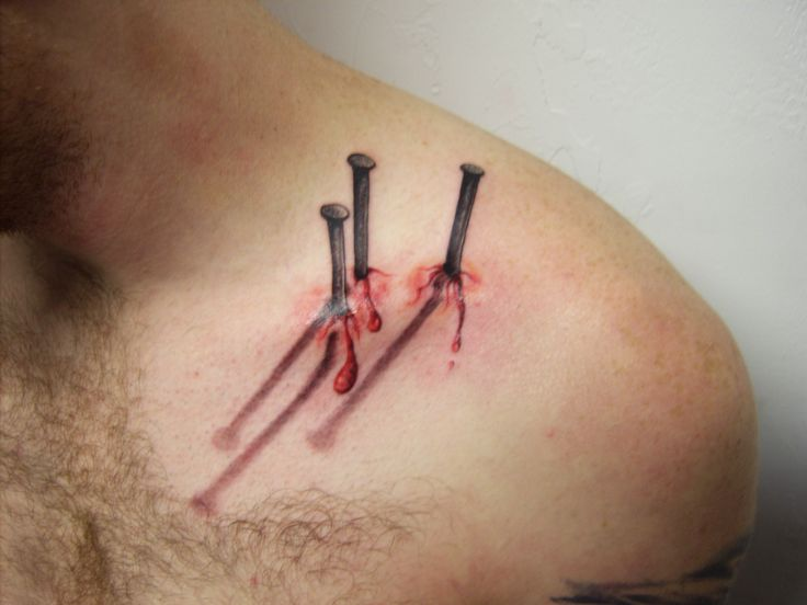 Weird & Bizarre Tattoo: Is this the most disturbing tattoo ever, or is this art. I'm not sure.