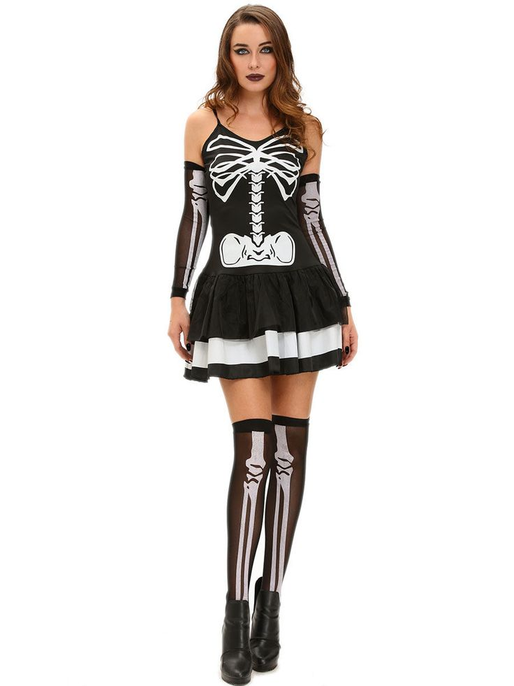 1000 ideer om sexet skelet kostume på Pinterest-8159