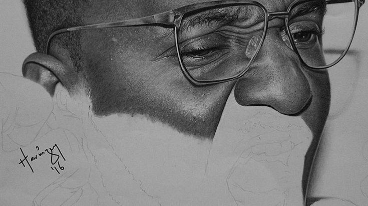 Los increíbles dibujos hiperrealistas del artista nigeriano Arinze ...