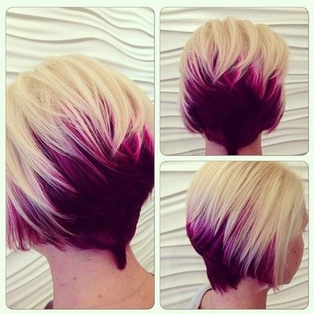 I LOVE this. I would love to do the long hair on top a dark brown or rich auburn and then maybe do a blue or red ombre on the back and sides? I feel like this would be pretty cost prohibitive for me though.