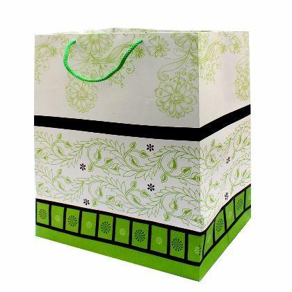 Utsav Krafts Premium Designer Paper Bags-Pack of 10