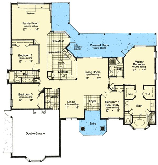 68 best images about my top dream home picks on pinterest House plans with 4 car attached garage