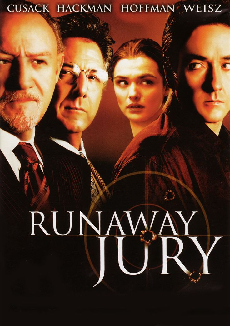#Movie #Thriller #RunawayJury Runaway Jury - Thriller Movie: Synopsis: A juror on the inside and a woman on the outside manipulate a court…