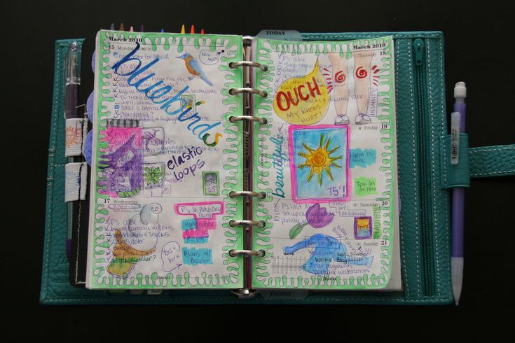 diy planner/great site for ideas