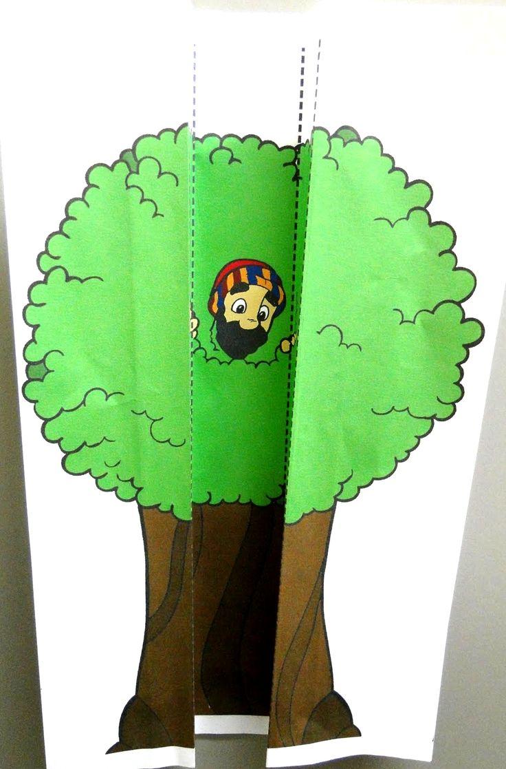 Zaqueo aparece en el árbol                                                                                                                                                     Más