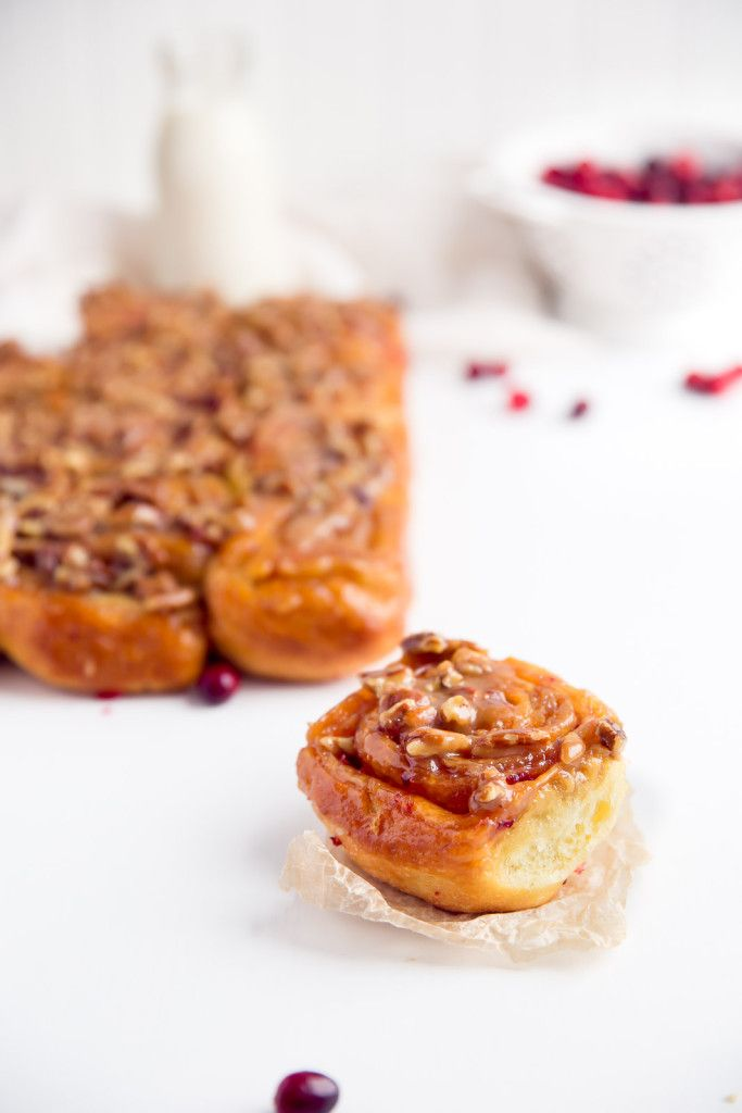 Pecan Sticky Buns With Orange And Bourbon Glaze Recipe ...