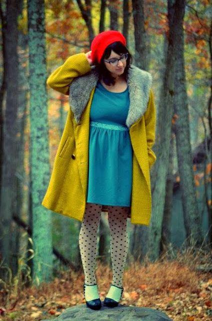Yellow jacket fatshion