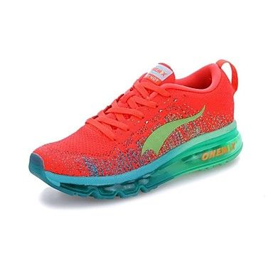 2015 ONEMIX Air Max Running Women's Shoes Fashion Training Flyknit Sneakers PVC Purple/Red/Orange 2015 – $74.99