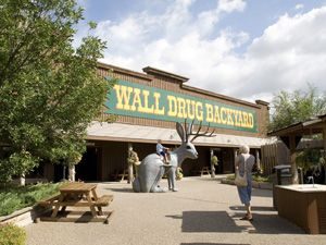 Yep, we got dragged into the signage through the badlands and stopped in at Wall Drugs.