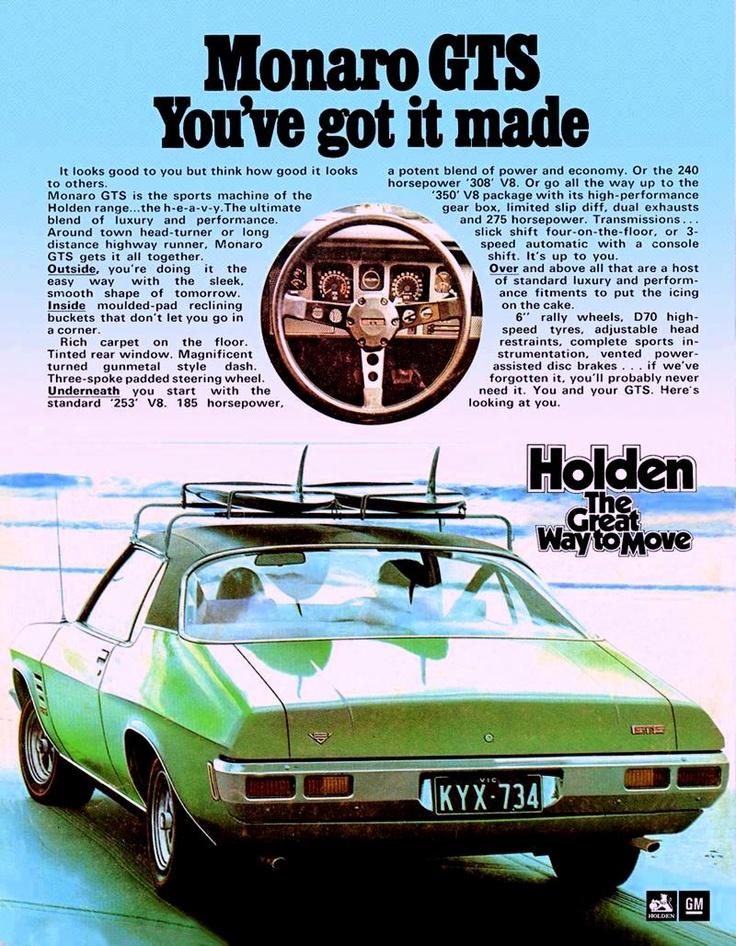 Holden HQ Monaro GTS