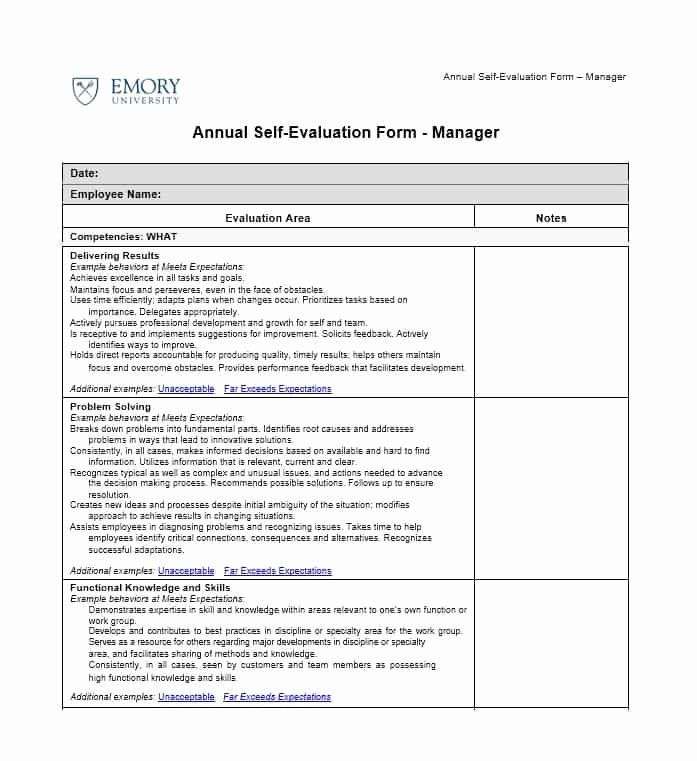 Self Performance Review Template Best Of 50 Self Evaluation Examples Forms Questions Template Lab Evaluation Employee Evaluation Form Jobs For Teachers