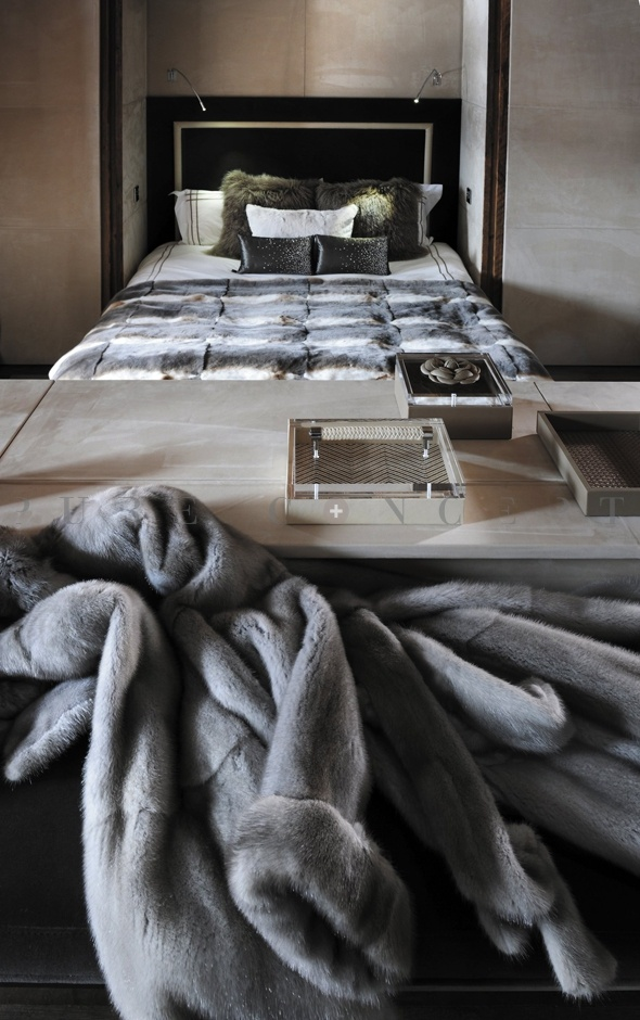 Lit chambre mezzanine chalet pinterest mezzanine - Chambre lit mezzanine ...