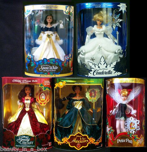 We had Snow White, bell, and Cinderella...ok, so we still have them hahaha