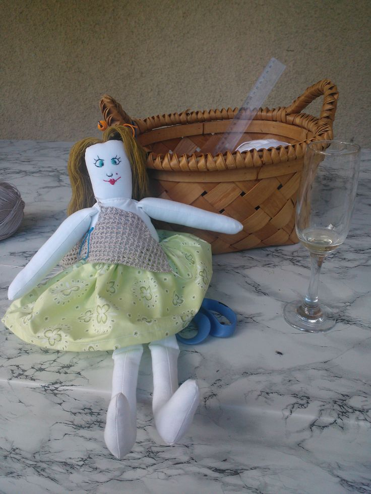 My fabric dolls