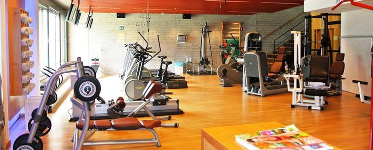 #Fitnessraum im DolceVita Hotel #Lindenhof mit Technogymgeräten
