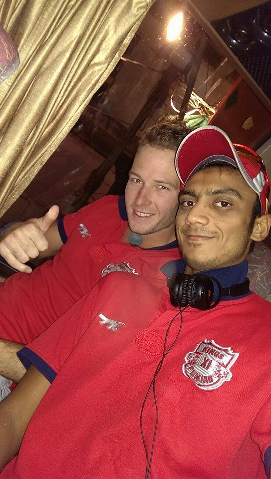 Akshar Patel With David Miller
