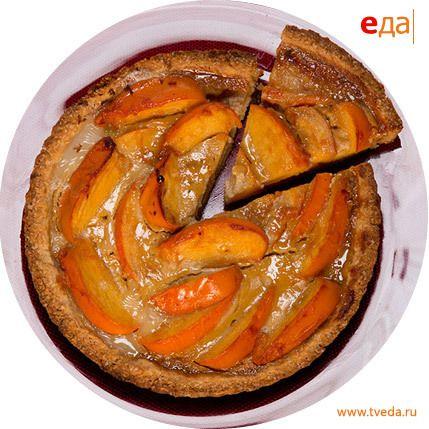 Рецепт карамельного пирога с хурмой от Насти Латовой. http://www.tveda.ru/recepty/karamelnyy-pirog-s-hurmoy/