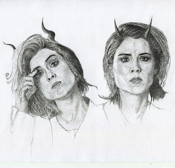 Tegan and Sara by @vr003