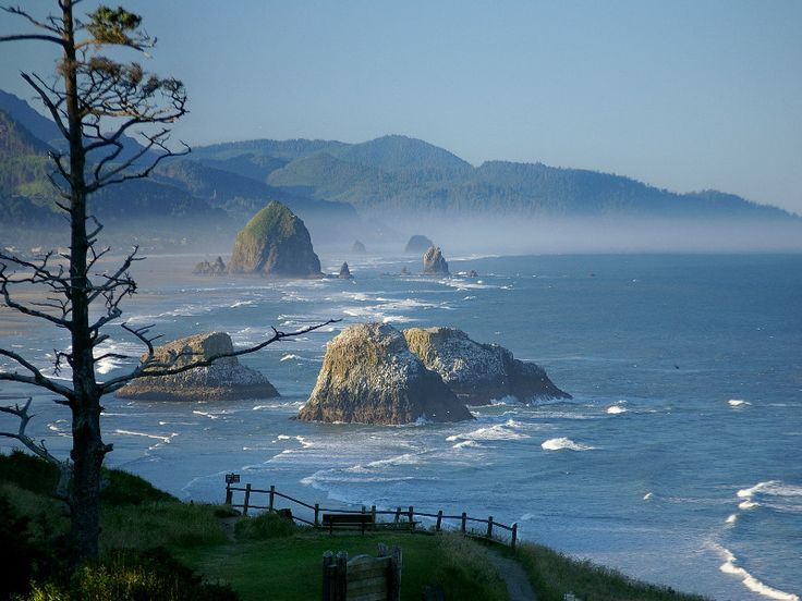 Astoria Oregon, Cannonbeach...cool place. Goonies never say die!!!