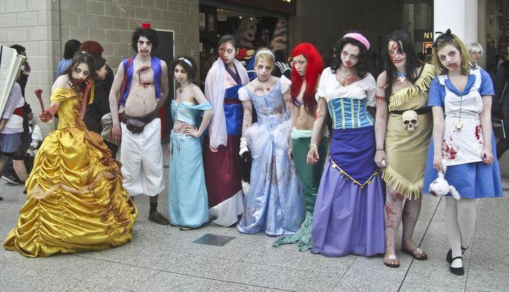 Princesses are like zombies . . . literally!