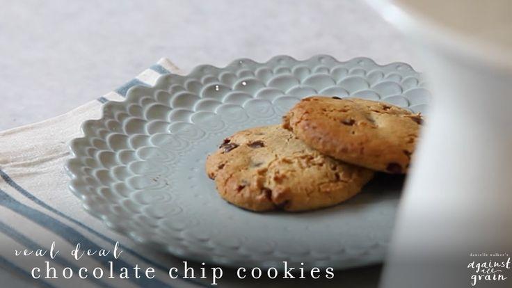 Recipe: Real Deal Chocolate Chip Cookies | Danielle Walker