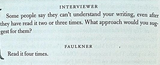 Understanding Faulkner