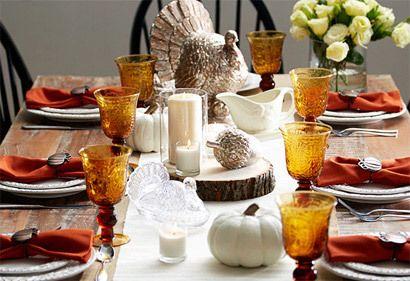 La tabla de Acción de Gracias