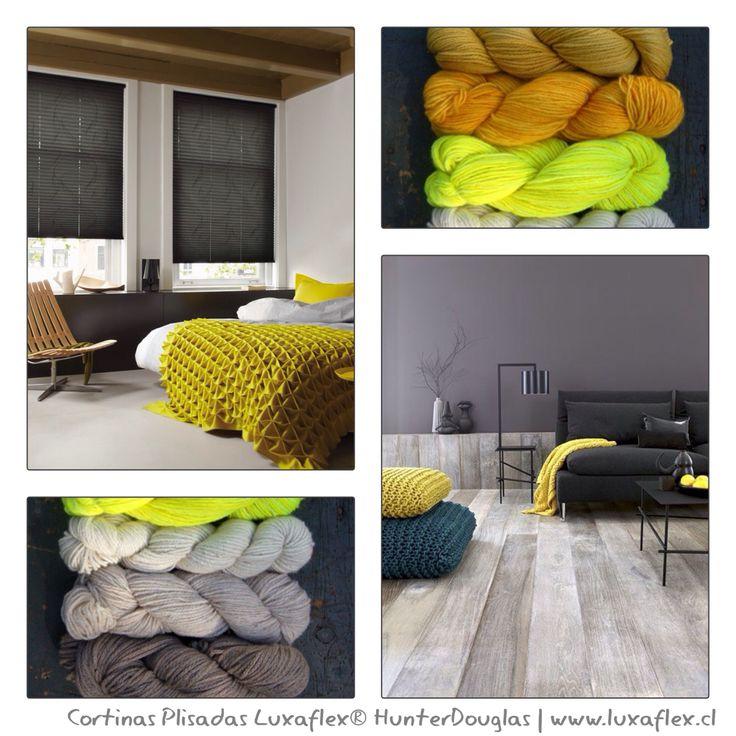 Para comenzar a preparar el otoño. Colores mostazas + grises ✔️