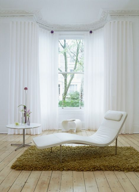 Curtains Ideas bay window curtain pole ceiling fix : 17 Best images about Curtain Tracks and Rails on Pinterest ...
