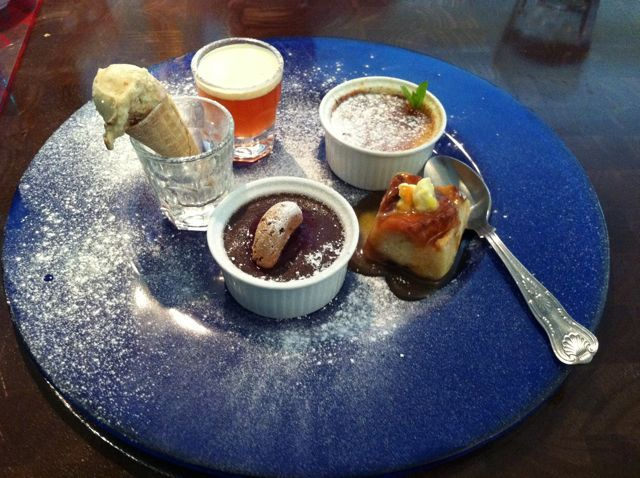 Blue Plate, Downderry - possibly one of the best desserts I've ever had.